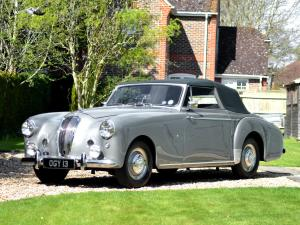 1953 Lagonda 3-Litre Drophead Coupe by Tickford