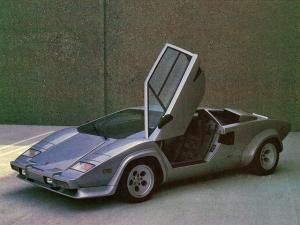 Lamborghini Countach LP5000 S Fuel Injection Prototype 1982 года