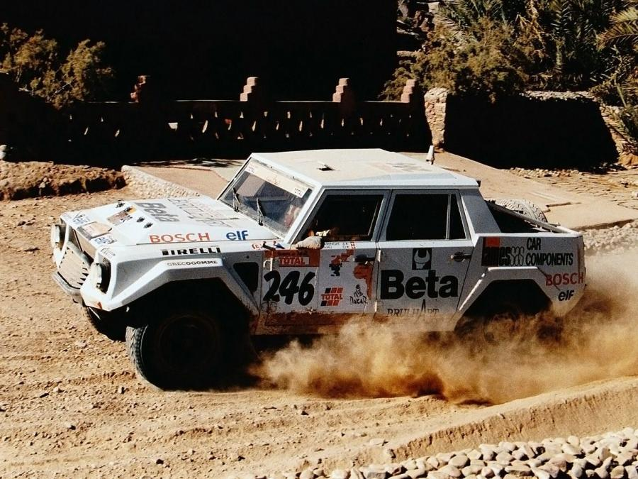 Lamborghini LM002 Rally Car '1996