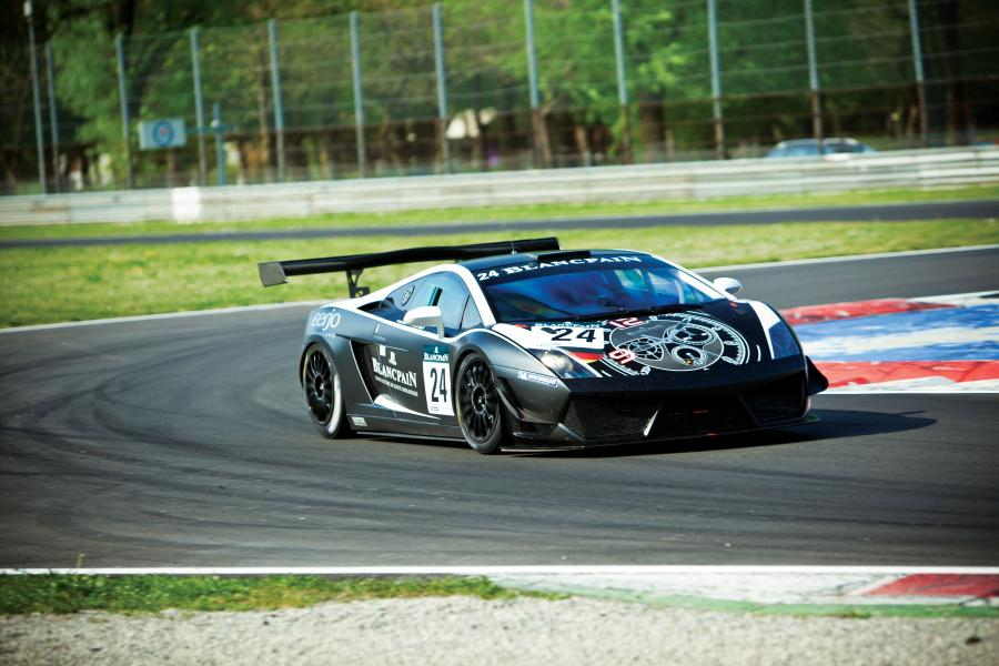 Lamborghini Gallardo LP600 GT3 Racing Car '2011