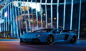 2014 Lamborghini Aventador LP720-4 Blue by Liberty Walk