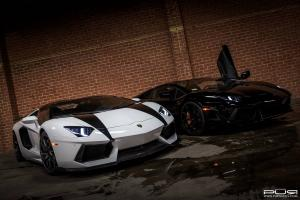 Lamborghini Aventador Roadster by PUR Wheels 2014 года