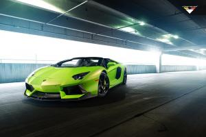 2014 Lamborghini Aventador-V Roadster The Hulk by Vorsteiner