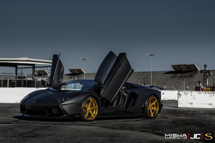 Lamborghini Aventador LP700-4 Chris Brown by Misha Design '2015