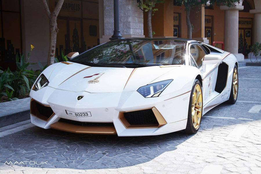 Lamborghini Aventador LP700-4 Roadster by Maatouk Design '2015