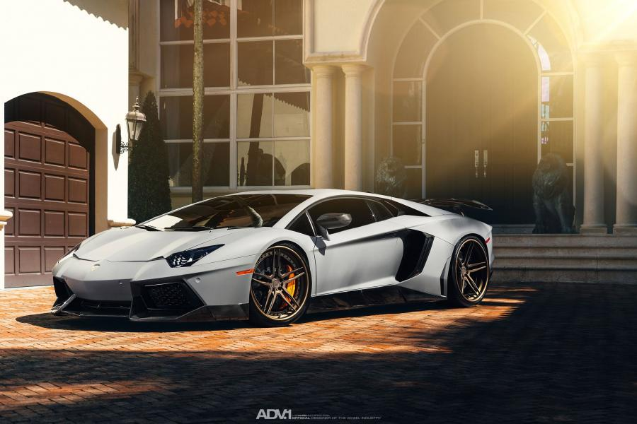 Lamborghini Aventador LP700-4 on ADV.1 Wheels (ADV05TSCS) '2015