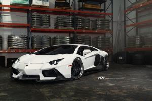 Lamborghini Aventador LP700-4 on ADV.1 Wheels (ADV5.2 Track Spec CS) 2015 года