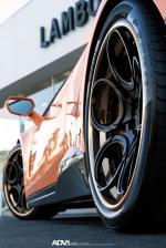 Lamborghini Huracan LP610-4 Orange on ADV.1 Wheels (ADV05C Track Spec CS) 2015 года