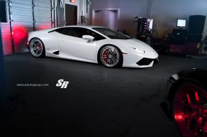 Lamborghini Huracan LP610-4 by SR Auto Group on PUR Wheels 2015 года