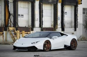 Lamborghini Huracan LP610-4 by TAG Motorsports on ADV.1 Wheels (ADV5.2MV2CS) 2015 года