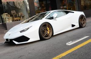 Lamborghini Huracan LP610-4 on ADV.1 Wheels (ADV05MV1CS) 2015 года