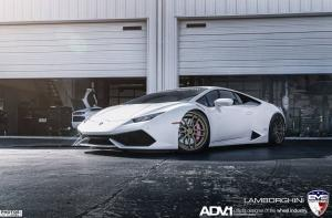Lamborghini Huracan by EVS Motors on ADV.1 Wheels (ADV005MV2CS) 2015 года