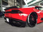 Lamborghini Huracan in Red by Liberty Walk 2015 года