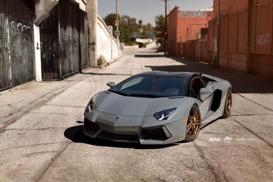 Lamborghini Aventador LP700-4 Roadster on ADV.1 Wheels (ADV05 Track Spec CS) '2016