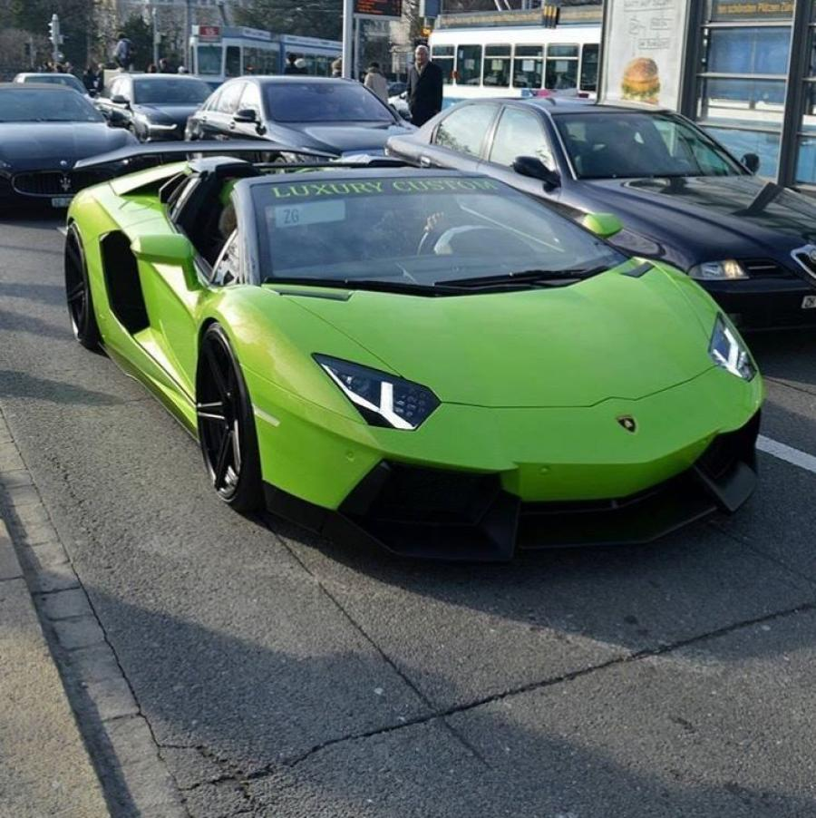 Lamborghini Aventador LP770 HULK Roadster by Luxury Custom '2016