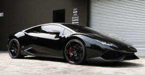 Lamborghini Huracan LP610-4 Black on Black by RACE 2016 года