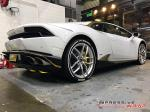Lamborghini Huracan LP610-4 Gold Chrome Livery by Impressive Wrap 2016 года (JP)