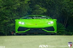 2016 Lamborghini Huracan LP610-4 Green Car by EVS Motors