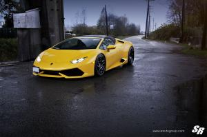 Lamborghini Huracan LP610-4 Spyder by SR Auto Grou on PUR Wheels (RS05) 2016 года