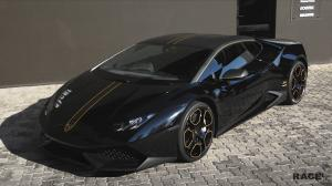 Lamborghini Huracan LP610-4 in Black by RACE! 2016 года
