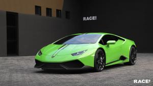 Lamborghini Huracan LP610-4 in Green by RACE! 2016 года