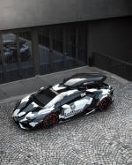 Lamborghini Huracan LP800 Winter Project by Jon Olsson and WrapZone 2016 года