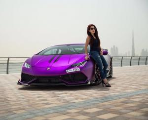 Lamborghini Huracan LP610-4  in Purple by RevoZport 2017 года