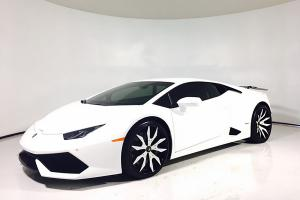 Lamborghini Huracan LP610-4  on Forgiato Wheels (Artigli-ECL)