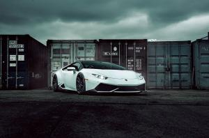 Lamborghini Huracan LP610-4 by Driving Emotions Motorcar on ADV.1 Wheels (ADV5.3 M.V2 CS) 2017 года