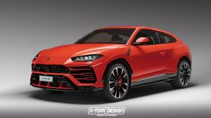 Lamborghini Urus 3-Door by X-Tomi Design 2017 года