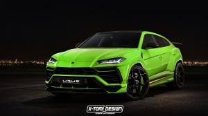 Lamborghini Urus Performante by X-Tomi Design 2017 года