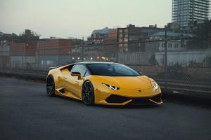 2018 Lamboghini Huracan LP610-4 Giallo Evros by Exclusive Auto Spa on ADV.1 Wheels (ADV10 M.V2 CS)