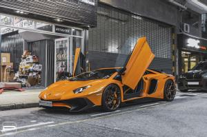 Lamborghini Aventador LP750-4 Superveloce on PUR Wheels (RS43) 2018 года