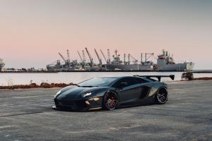 Lamborghini Aventador by Liberty Walk on Forgiato Wheels (Maglia-ECL) 2018 года