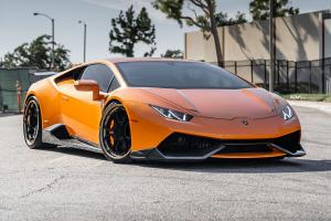 Lamborghini Huracan LP610-4 Arancio Borealis on ADV.1 Wheels (ADV05C TRACK SPEC CS)
