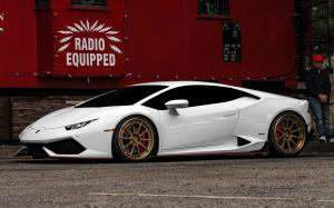 Lamborghini Huracan LP610-4 by EVS Motors on ADV.1 Wheels (ADV5.0 M.V2 CS) 2018 года