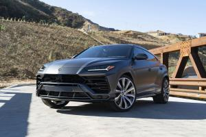2018 Lamborghini Urus Matte Black on Forgiato Wheels (Inferno-ECX)