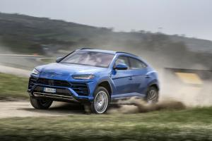 Lamborghini Urus Off-Road Package 2018 года