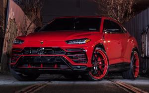 Lamborghini Urus Rosso Anteros on Forgiato Wheels (TEC 3.9)