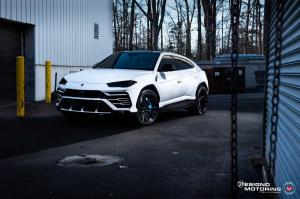 2018 Lamborghini Urus by Designo Motoring on Vossen Wheels (M-X6)