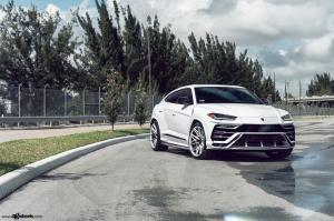 2018 Lamborghini Urus on Avant Garde Wheels (F338)