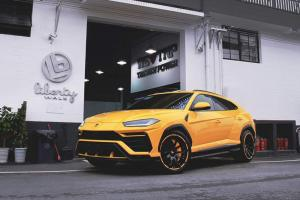 2018 Lamborghini Urus on Forgiato Wheels (F2.16)