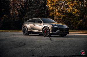 2018 Lamborghini Urus on Vossen Wheels (S17-01)