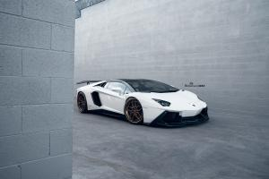 Lamborghini Aventador LP700-4 by R1 Motorsport on ADV.1 Wheels (ADV005 TRACK SPEC ADVANCED)