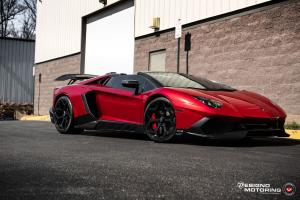 2019 Lamborghini Aventador LP750-4 Superveloce Roadster by Designo Motoring on Vossen Wheels (NV1)