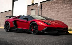 Lamborghini Aventador LP750-4 Superveloce Roadster by Designo Motoring on Vossen Wheels (NV1) 2019 года