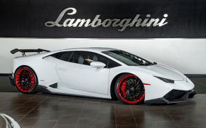Lamborghini Huracan LP610-4 on Forgiato Wheels (Ventoso-ECL) 2019 года