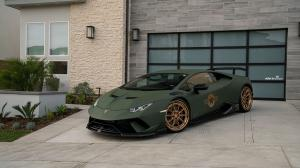 2019 Lamborghini Huracan Performante by R1 Motorsport on ADV.1 Wheels (ADV10 TRACK SPEC)