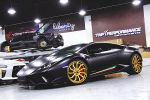 2019 Lamborghini Huracan Performante on Forgiato Wheels (Navaja-ECX)