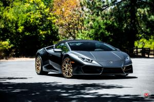 2019 Lamborghini Huracan Spyder on Vossen Wheels (S17-01)